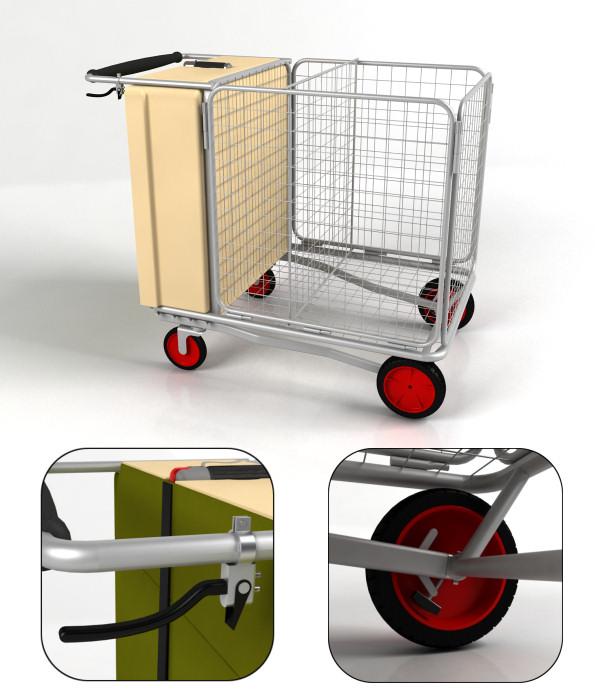 수레 집(Shelter in a cart) 디자인 공모전 수상작