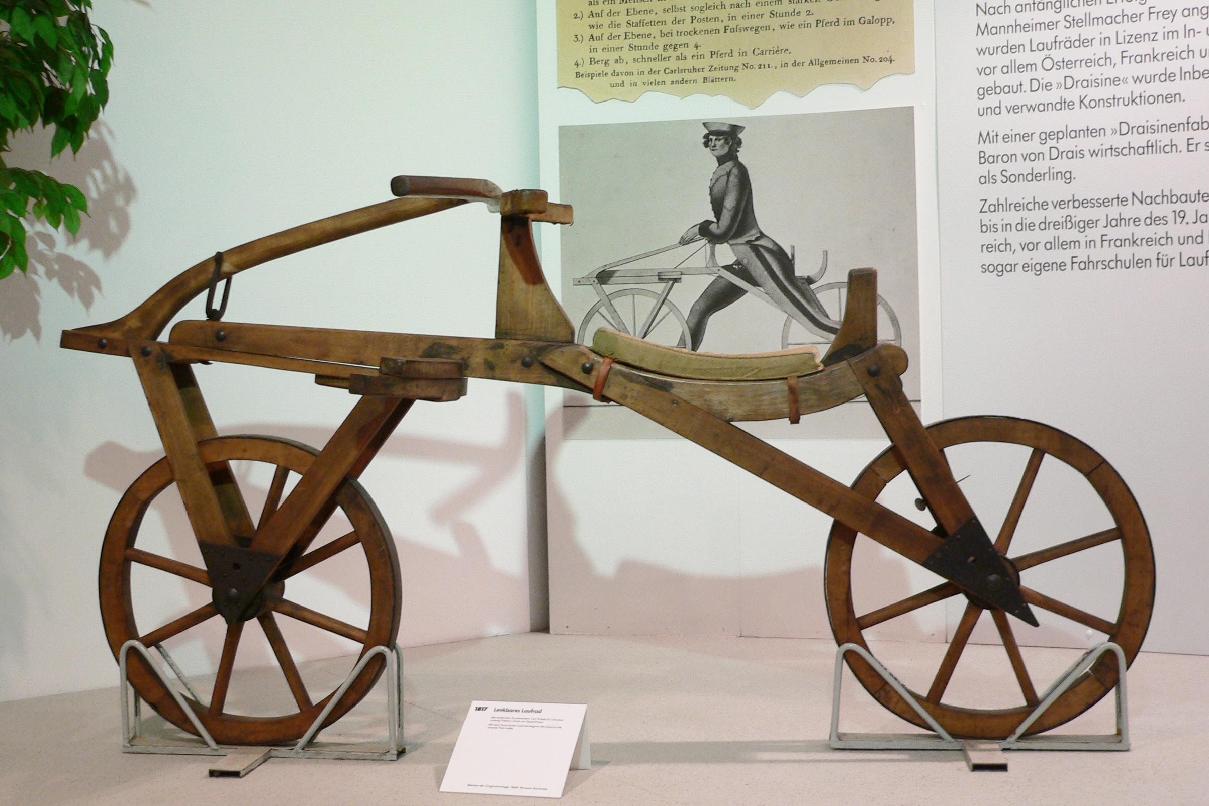 Draisine – 최초의 자전거와 여성