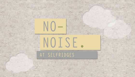 셀프리지 노-노이즈 프로젝트, 셀프리지 웹사이트 이미지.